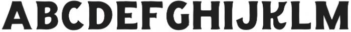 The Salvador Serif otf (400) Font LOWERCASE