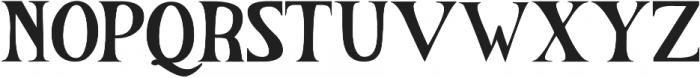 The Salvator otf (400) Font UPPERCASE