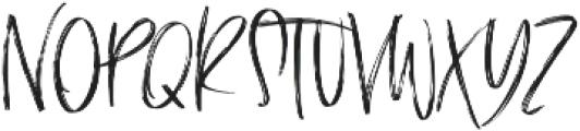 The Scarlett Regular otf (400) Font UPPERCASE