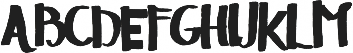 The Sellen Type ttf (400) Font UPPERCASE
