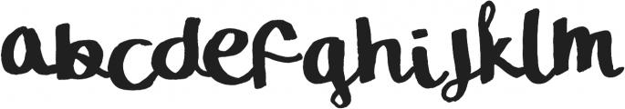 The Sellen Type ttf (400) Font LOWERCASE