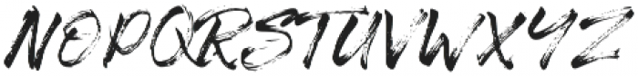 The Senom Regular otf (400) Font UPPERCASE