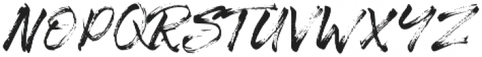 The Senom Regular otf (400) Font LOWERCASE