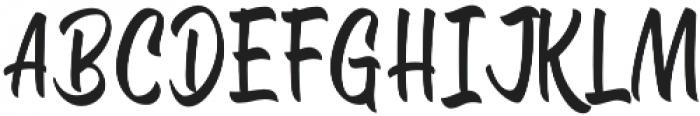 The Signals Script otf (400) Font UPPERCASE