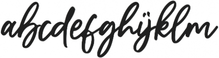 The Sopher otf (400) Font LOWERCASE