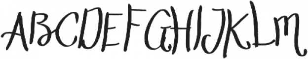 The Stopped Extra light otf (200) Font UPPERCASE