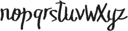 The Stopped Light otf (300) Font LOWERCASE
