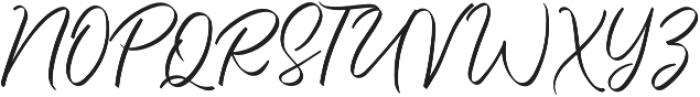 The Strength otf (400) Font UPPERCASE