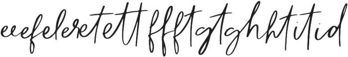 The Subject Ligature otf (400) Font UPPERCASE