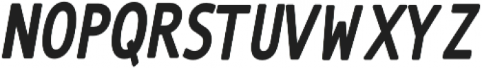 The Subject Sans-Bold otf (700) Font UPPERCASE