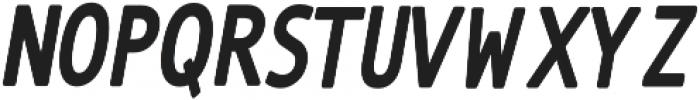 The Subject Sans-Bold otf (700) Font LOWERCASE