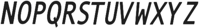 The Subject Sans otf (400) Font UPPERCASE