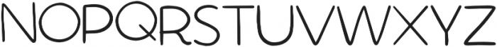 The Succulent Pair Regular otf (400) Font UPPERCASE
