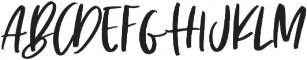The Sunlight Regular otf (300) Font UPPERCASE