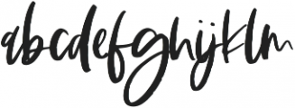 The Sunlight Regular otf (300) Font LOWERCASE