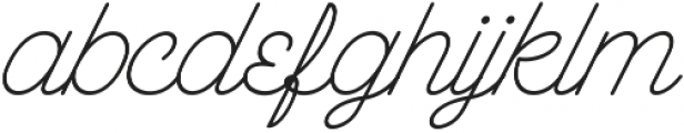 The Wahhabi Script Slant The Wahhabi Script Slant ttf (400) Font LOWERCASE