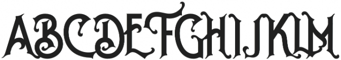 The Witch otf (400)  What Font is