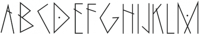 The Witches otf (400) Font UPPERCASE