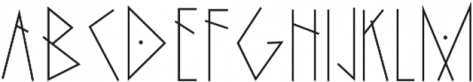 The Witches otf (400) Font LOWERCASE