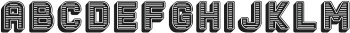 The Woods Black ttf (900) Font LOWERCASE