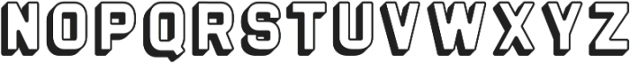 The Woods Regular ttf (400) Font LOWERCASE