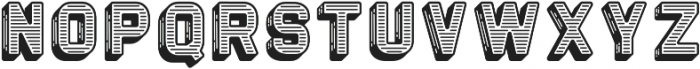 The Woods etched ttf (400) Font LOWERCASE