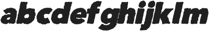 The clouds otf (400) Font LOWERCASE