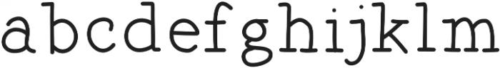TheBakery otf (400) Font LOWERCASE