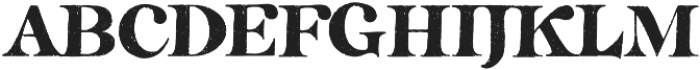 TheCalifornia Serif Regular otf (400) Font UPPERCASE