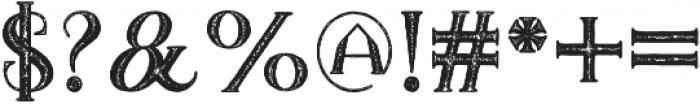 TheDarkTitanVintage otf (400) Font OTHER CHARS