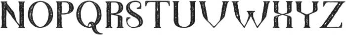 TheDarkTitanVintage otf (400) Font UPPERCASE