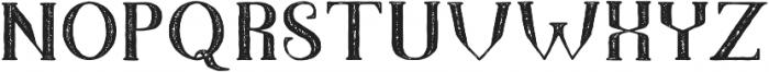 TheDarkTitanVintage otf (400) Font LOWERCASE