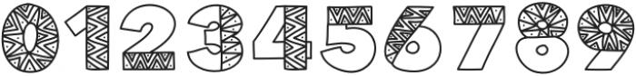 TheDottedZebrabyKBCreativeLab otf (400) Font OTHER CHARS
