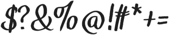 TheHarmony otf (400) Font OTHER CHARS