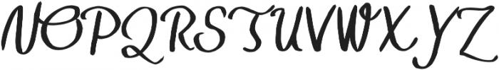 TheHarmony otf (400) Font UPPERCASE