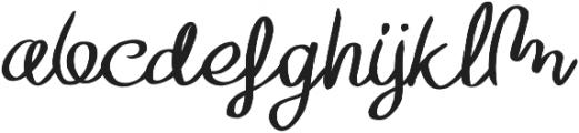 TheHarmony otf (400) Font LOWERCASE