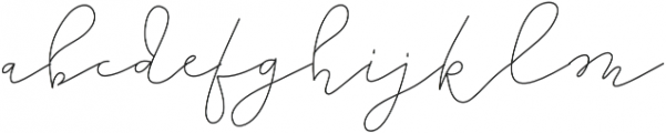 TheLighthouse otf (300) Font LOWERCASE