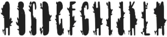 TheMinimalist Green otf (400) Font LOWERCASE