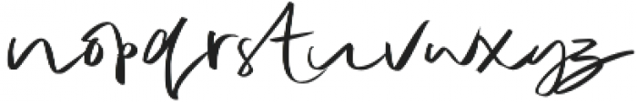 TheNicestWomen otf (400) Font LOWERCASE