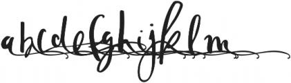 TheSofyAlt2 otf (400) Font LOWERCASE