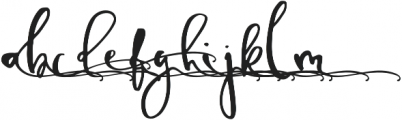 TheSofyAlt4 otf (400) Font LOWERCASE
