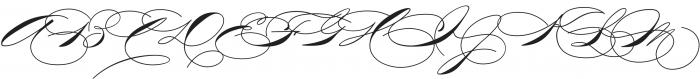 TheWeddingScript Bold otf (700) Font UPPERCASE