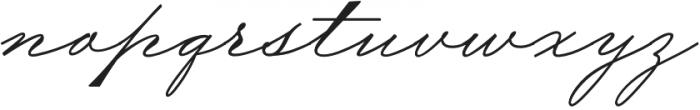 TheWeddingScript Bold otf (700) Font LOWERCASE