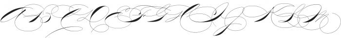TheWeddingScript otf (400) Font UPPERCASE