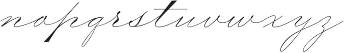 TheWeddingScript otf (400) Font LOWERCASE