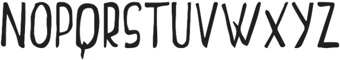 TheWolf otf (400) Font LOWERCASE