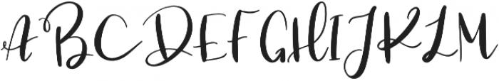 TheknotScript otf (400) Font UPPERCASE