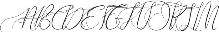 Theodoria otf (400) Font UPPERCASE