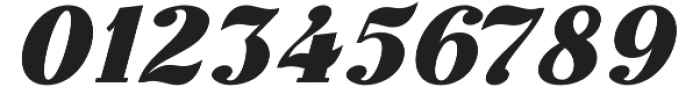 Thephir Bold Slanted otf (700) Font OTHER CHARS