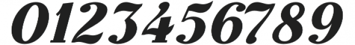 Thephir Semi Bold Slanted otf (600) Font OTHER CHARS